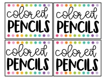 FREE Classroom Decor Labels {Editable} Black and White Options