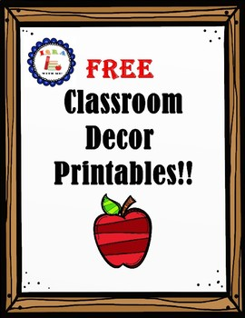 FREE Classroom Decor Printable! (Motivational Quotes)