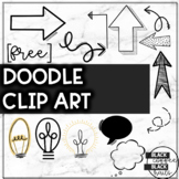 FREE Classroom Doodle Clipart