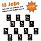 Classroom Jobs Free Bulletin Board Set