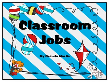 FREE Classroom Jobs Pack