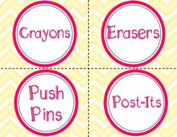 FREE Classroom Labels