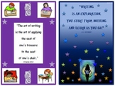 FREE!!  Classroom Mini-Posters (Writing Quotes)