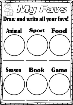 FREE Classroom Passport - Getting to know you / 'About Me' activity book.