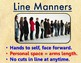 "FREE - Classroom Rules ""Line Manners"""