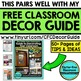 FREE Classroom Theme Planning Guide