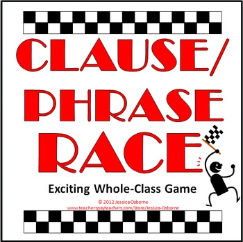 Clause and Phrase Game (FREE)