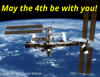 "FREE - Clip Art & Poster | Science & STEM | ""May the 4th Be With You!"""
