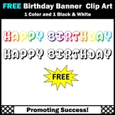 FREE Happy Birthday Clip Art, Commercial Use SPS