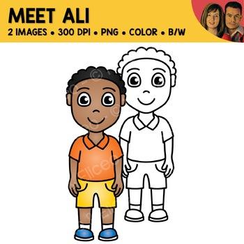 FREE Clipart - Meet Ali