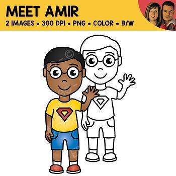 FREE Clipart - Meet Amir
