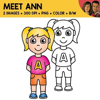 FREE Clipart - Meet Ann