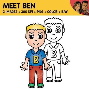 FREE Clipart - Meet Ben