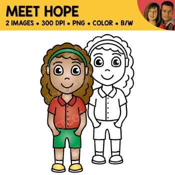 FREE Clipart - Meet Hope