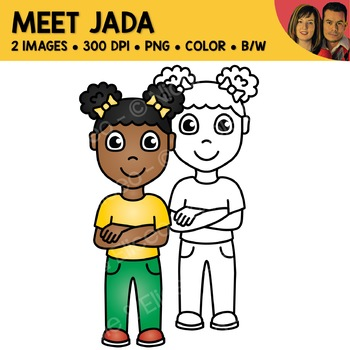 FREE Clipart - Meet Jada