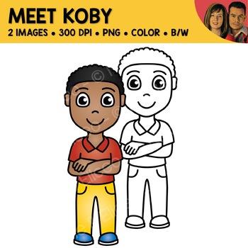 FREE Clipart - Meet Koby