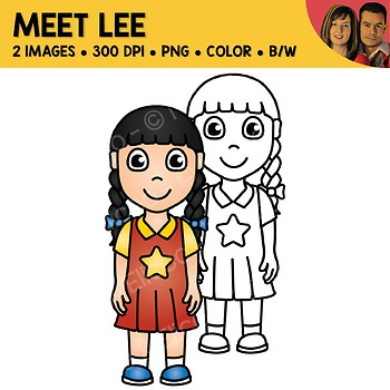 FREE Clipart - Meet Lee