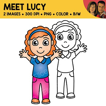 FREE Clipart - Meet Lucy