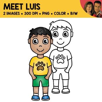 FREE Clipart - Meet Luis