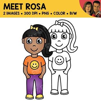 FREE Clipart - Meet Rosa