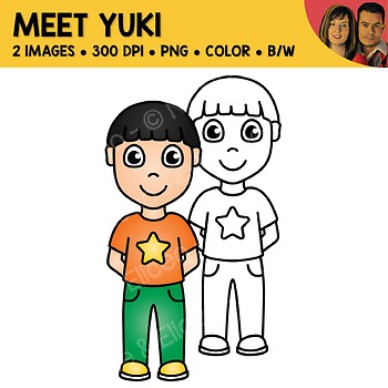 FREE Clipart - Meet Yuki
