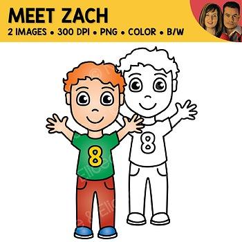 FREE Clipart - Meet Zach