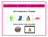 Clothing and Things to Wear Vocabulary Flashcards FREE