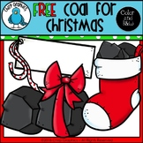 FREE Coal for Christmas Clip Art Set - Chirp Graphics