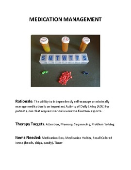Free Cognitive Therapy How To Guide Medication Management By Saracoslp