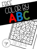 FREE Color By ABC
