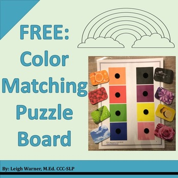 FREE: Color Matching Puzzle Board