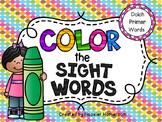 FREE Color by Sight Word DOLCH PRIMER list - am & at