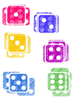 FREE Colored Dice