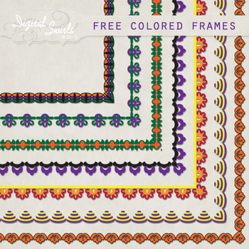 FREE Colored Frames
