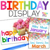 Birthday Display