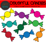 FREE Colorful Candy Clipart | Holiday or Seasonal | Hallow