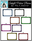 FREE Colorful Picture Frames Clip Art
