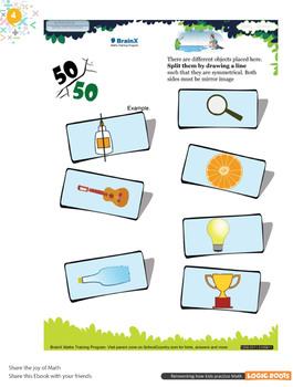 FREE Colorful Printable Geometry Worksheets - Grade 3 & Grade 4 - Math Bundle