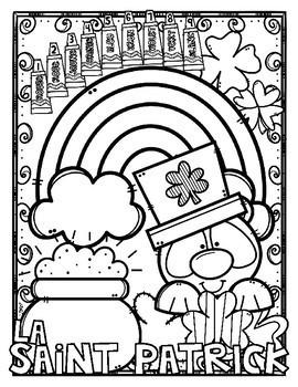 Coloriage Par Code La Saint Patrick