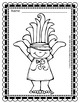 FREE Coloring Page of Troll Fun
