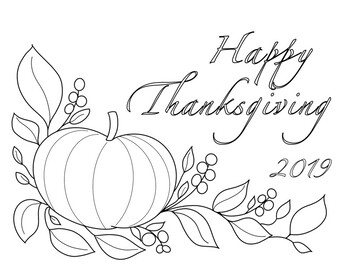 FREE Coloring Sheets for Thanksgiving and Fall by Black ...