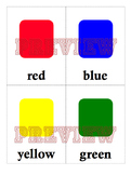 FREE Colors and Shapes Flashcards
