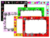 FREE Colors of Spring Frames & Borders