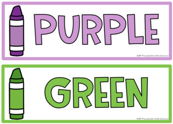 FREE Colour / Color Flashcards