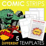 FREE Comic Strip Templates