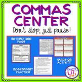 FREEBIE! Commas Activity