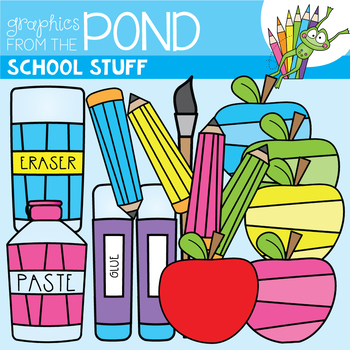 School Clipart / Clip Art FREEBIE - Graphics From the Pond