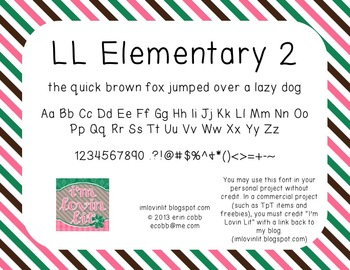 FREE Commercial (and personal!) Use Fonts - Elementary Teacher Handwriting