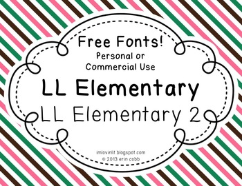 FREE Commercial (and personal!) Use Fonts - Elementary Tea
