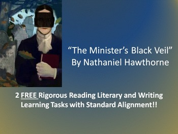 FREE Common Core Activities for Nathaniel Hawthorne's The Minister's Black Veil